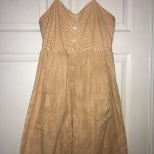 Forever 21 yellow babydoll dress